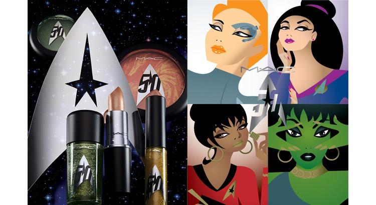 M.A.C Cosmetics x Start Trek