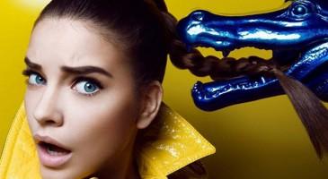 Osez le make-up bleu !