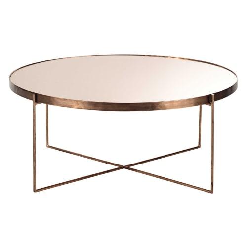 decoration-salon-salle-a-manger-table-basse-ronde-metallique-maison-du-monde